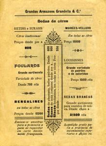 Figura 2 – Uma das várias páginas do guia destinadas à publicidade. Realce para a zona do pé de página.