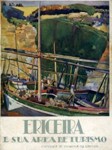 Figura 2 –Ericeira e sua área de turismo. Editado pela Comissão de Iniciativa da Ericeira,1931. Coleção Biblioteca Celestino Domingues