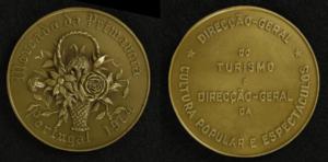 Medalha de bronze comemorativa do Mercado da Primavera