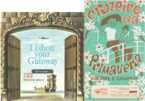 Brochura Folheto Mercado da Primavera Madeira Canárias TAP