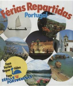 Brochura de divulgação turística Férias Repartidas