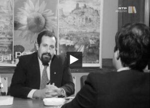 Entrevista RTP com José Carrasco sobre a promoção do turismo nacional