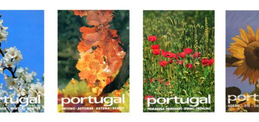 postais de campanha turística de portugal